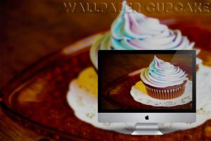 Wallpaper Cupcakes by DaniaPeaceeLovee