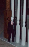 Slenderman by SageLiln