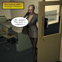 Penelope - Working Late 1 by Torqual3D