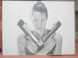 Angelina Jolie: Tomb Raider by nikkinickles
