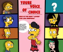 Lisa Simpson Voice of Choice by toongrowner