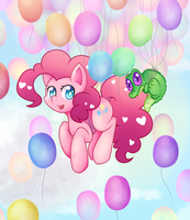 Balloons by noodlemonstah