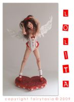 Lolita - OOAK Pin Up Angel 1 by fairytasia