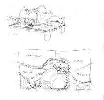 Dinosaur Table Project: 01 Plan by Gorpo