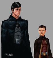 Batman and Robin by Bunk2