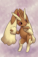 lopunny by ponchuZN