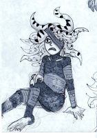 Tentacle Head by EvilCake