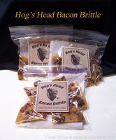 Hog's Head Bacon Brittle Candy- Harry Potter Theme by TheCopperDragon2004