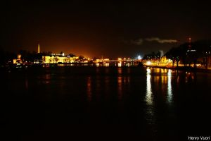 Night in Pori by HenryVuori