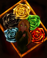 eileen's roses by silverei