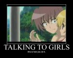How to talk to girls by Link-09