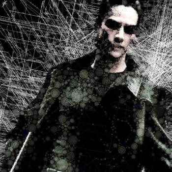 Neo (The Matrix) Abstract Portrait by CameronLiamIsaacs