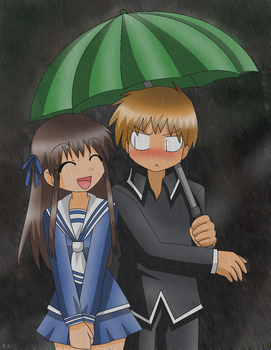 Tohru and Kyo by Endless-Rainfall