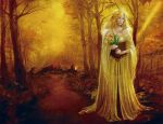 Bella in the forest by Esther-Sanz