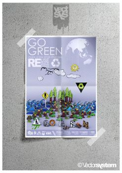 go.green.poster by Vectsys
