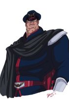 Street fighter II V M.Bison - Vega by Shadaloo1989