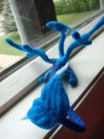 Needle felted Sea Dragon 3 by Projectsubvert