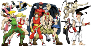Street Fighter Poster Alpha by MightyFooda