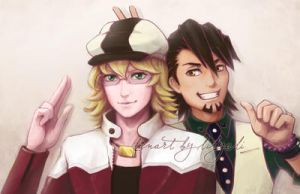Tiger and Bunny by lilythescorpio