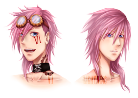 .: Badass Pinknettes :: Vi(cious) Lightning :. by Aiko188