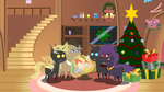 Pointy Christmas 6 : Changeling Christmas by Steampunk-Brony