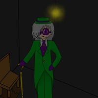 Arywn: Enter as The Riddler by TouchMyLexicon66