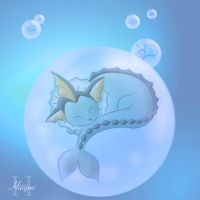 Underwater nap by Haiymi