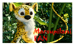 Marsupilami Stamp by BlackPantherPira