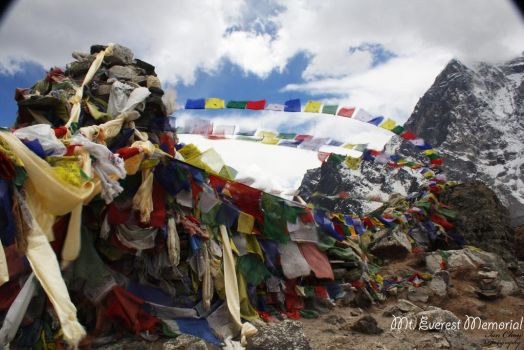 Mt. Everest Memorial by confuscious