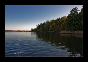 autumn sea waterscape by OrisTheDog