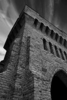 fragment of a church by athousandmiles