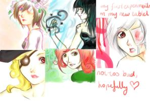 My First Tablet Pieces by WING-mizuhashi