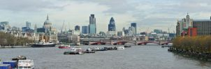 City of London by RevelationSpace