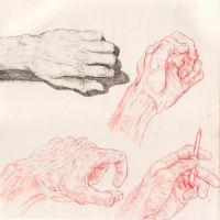 Hand Practice 2 by GoldenOne