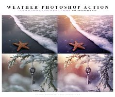 Weather Photoshop Action by lieveheersbeestje