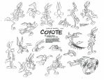 Wile E. Coyote Model Sheet Ver. 3 by guibor