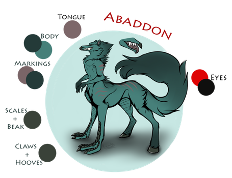 Abaddon Reference Sheet by TheAphelius