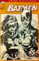 Black Bat and Batgirl by FreddieEWilliamsii