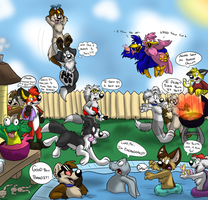 FPS 2012 Labor Day BBQ by TheDoggyGal