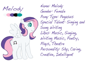 Melody Reference by ColbieWhite