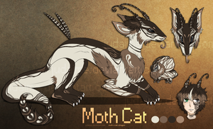 Moth x Dragon x Cat Hybrid Auction:: CLOSED by Judaime