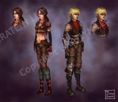 Characters by Sharrak