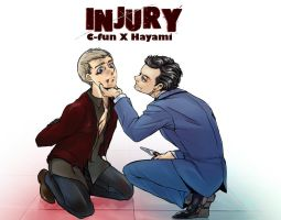 INJURY-MoriatyxJohn by hayamiyuu