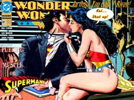 Wonder Woman #81 Alternate by Superman8193