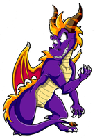 My Take on Spyro by KaylaTheDragoness