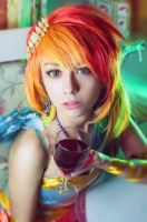 MLP Rainbow Dash Gala cosplay by AnimA89