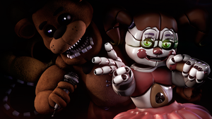 [SFM/FNAF/Sister Location] Let's Go. by NikzonKrauser