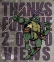 Donatello TMNT by mdavidct