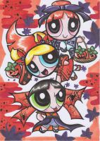 Japanese Halloween PPG by Yang-Mei