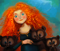 Merida by Vixen-of-Vines